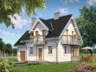 Стильный загородный дом с удобной планировкой